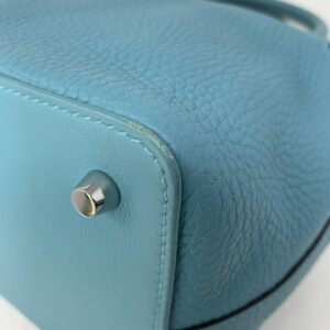 Hermes Bleu Saint CYR Toolbox 20 Bag